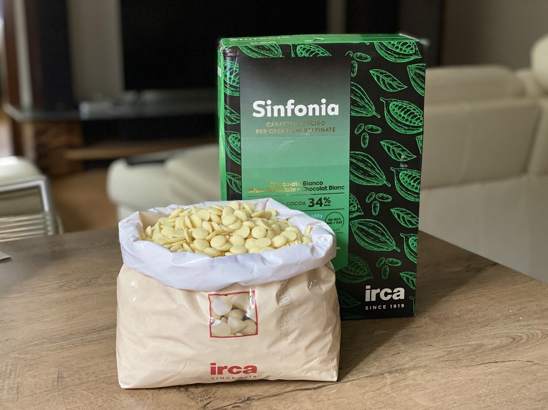 Білий шоколад Irca Superieur  34%, 100г.