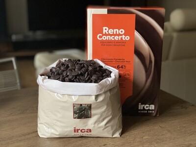 Чорний шоколад 64% Irca, 100 г.