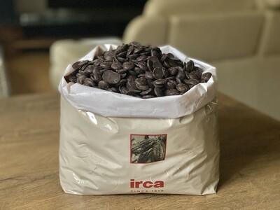 Чорний шоколад 58% Irca, 1 кг.