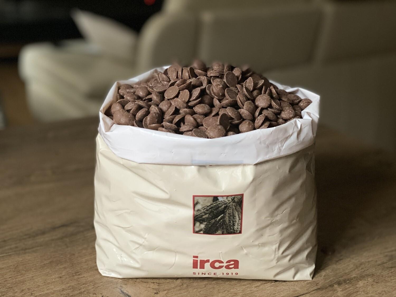 Молочний шоколад Irca   34%, 100г.