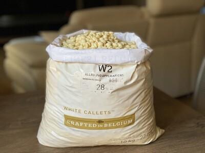 Білий шоколад  N° W2 Callebaut, 1 кг.