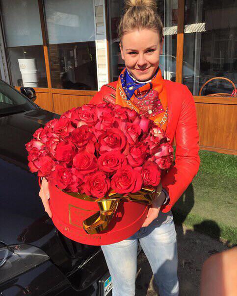 Коробочка роз Моя королева