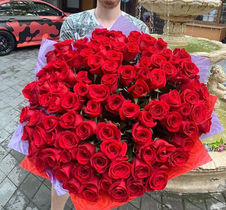 Роза Премиум Эквадор Любовь 💗