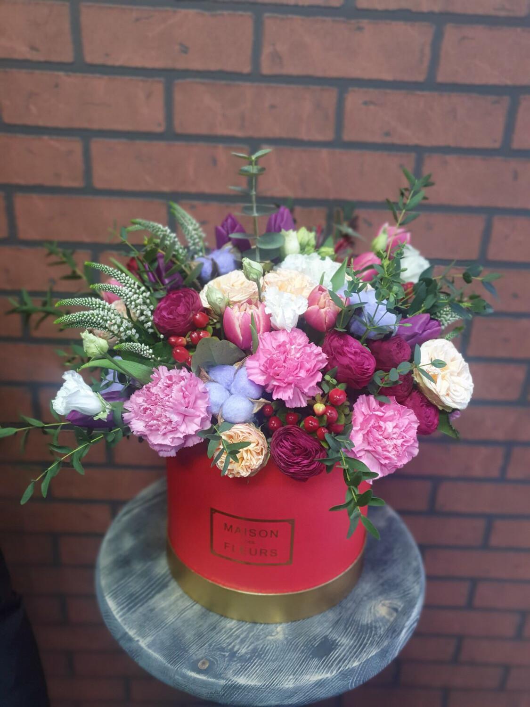 Цветы в коробке Экзотика