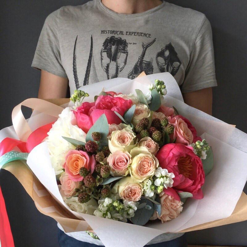 Авторский букет цветов # 4