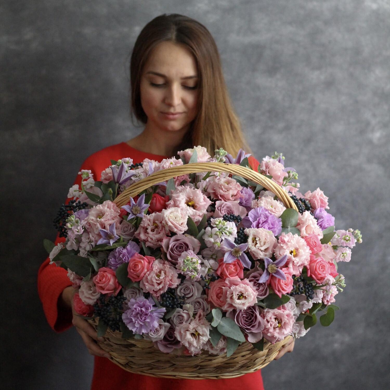 Корзина Летний Парад цветов