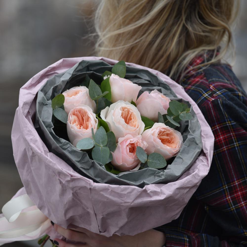 Букетик французских роз Дэвида Остина
