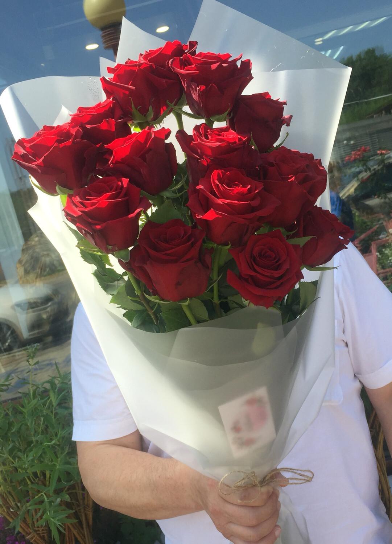 Букет из красных роз Ветер Мечты.