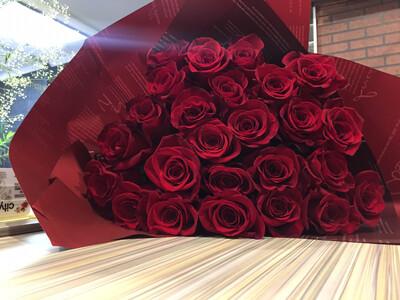 Букет Алых роз Страсть❤️