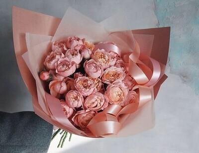 Букет роз Джульетта крема