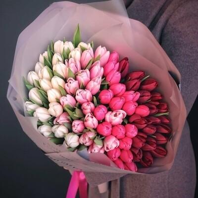 Букет из тюльпанов Примма