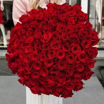 101 роза Премиум Эксплорер.