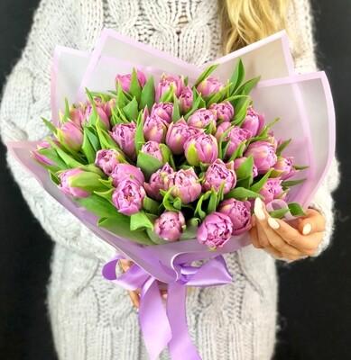 Весенний букет тюльпанов 🌷🌷🌷