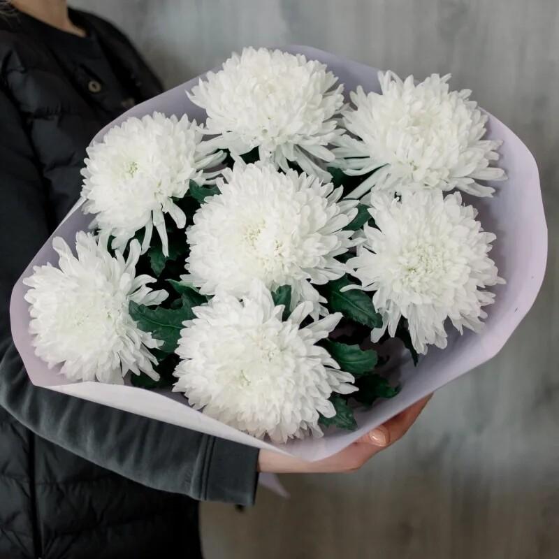 Букет хризантем Гагарин