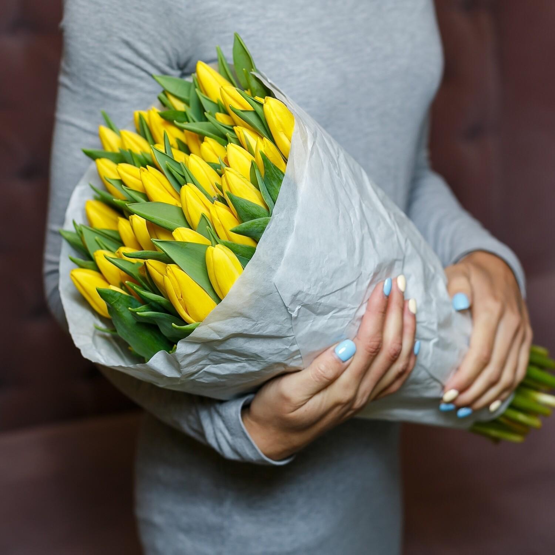 Упаковка тюльпанов Голландия Премиум 50шт