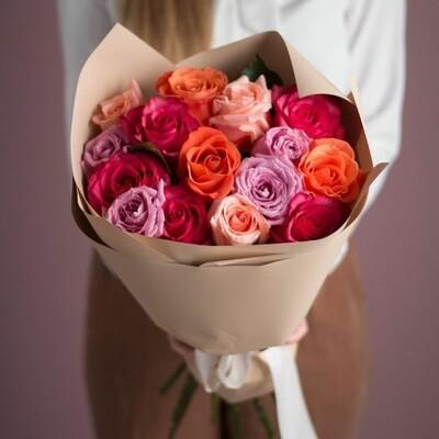 Букет кенийских роз микс