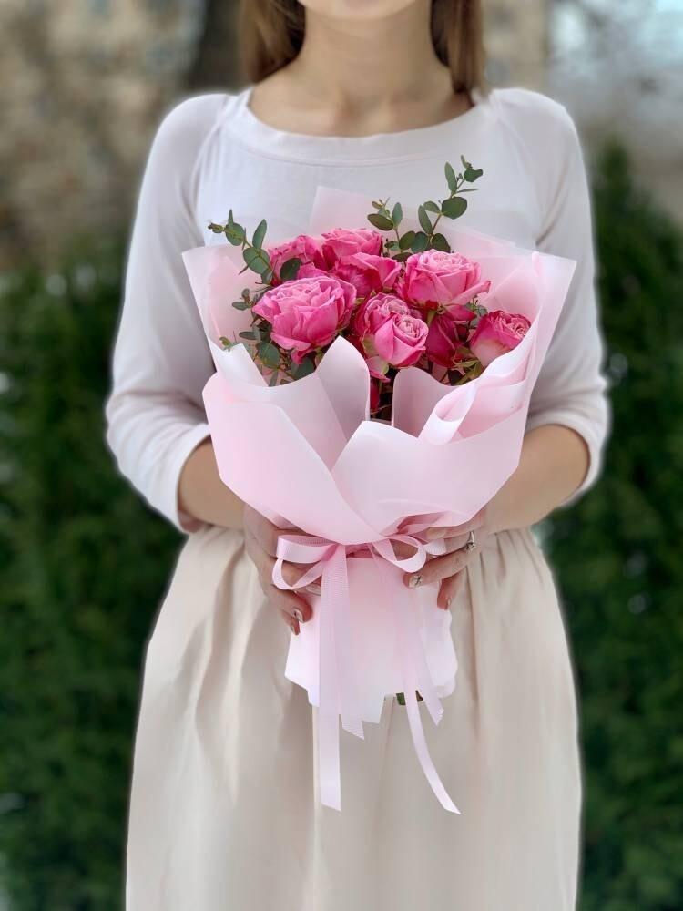 Букет комплимент pink