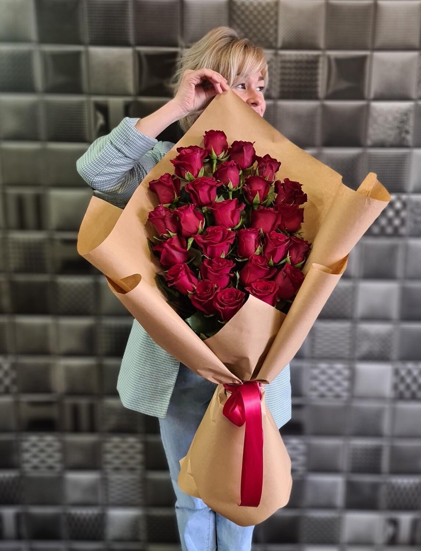 Букет из роз Каскад