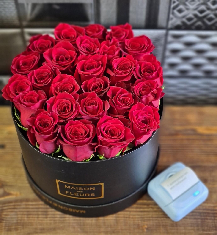 Коробочка роз Доброе утро 🌄
