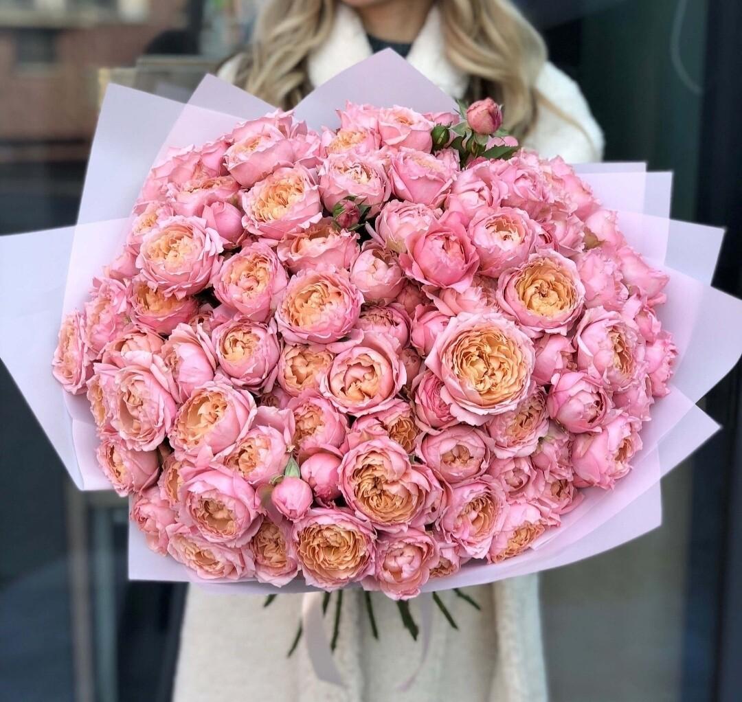 Букет шикарных роз Джульетта