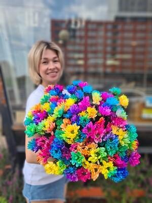 Букет Chic rainbow 🌈