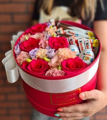 Коробка цветов BOX KINDER