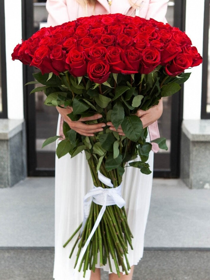 Букет из 51 розы XXL