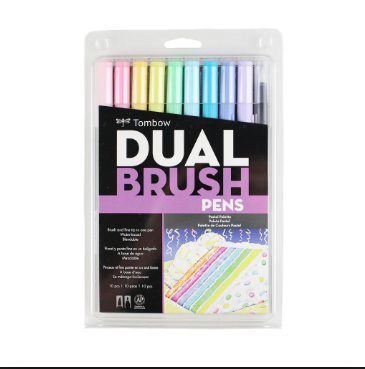 Tombow dual Pastel