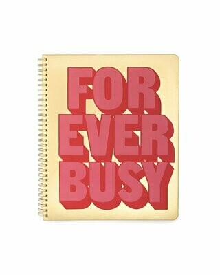 Cuaderno Grande Forever Busy