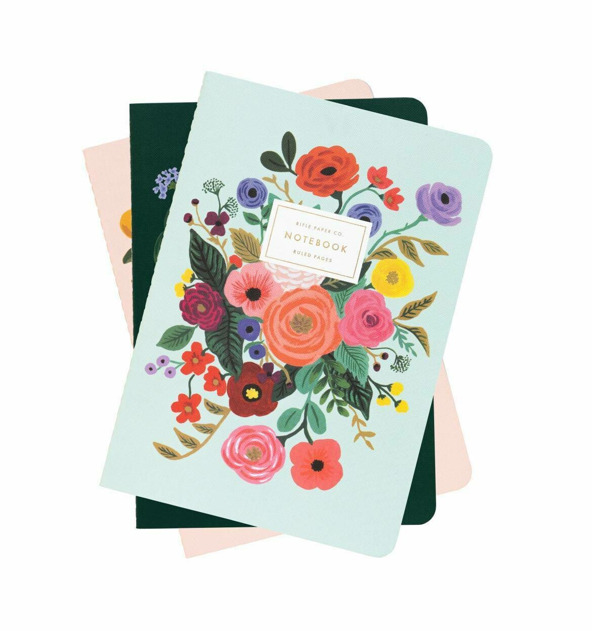 Set 3 Cuadernos- Garden Party
