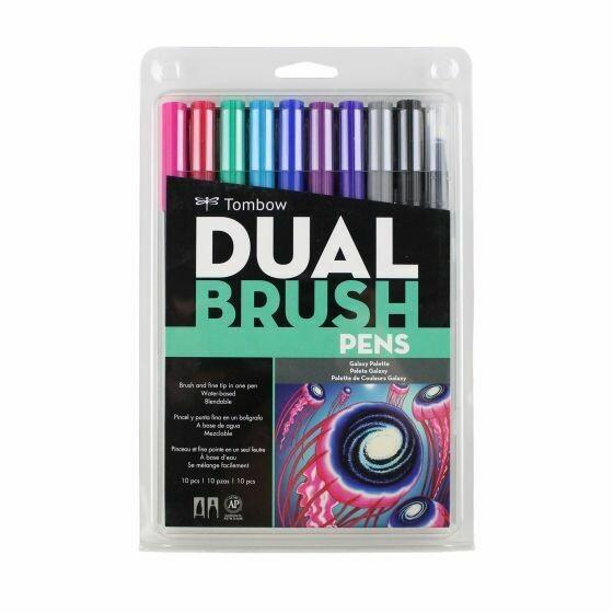 Tombow dual brush Galaxy