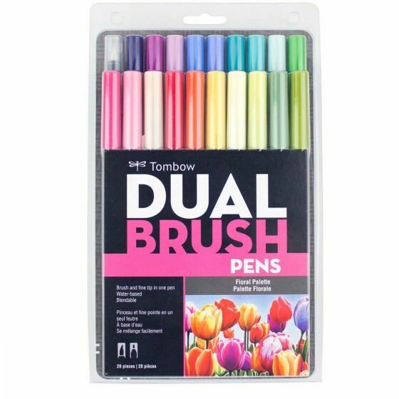 Tombow Dual Floral pallet 20
