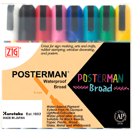ZIG Posterman 8 Large
