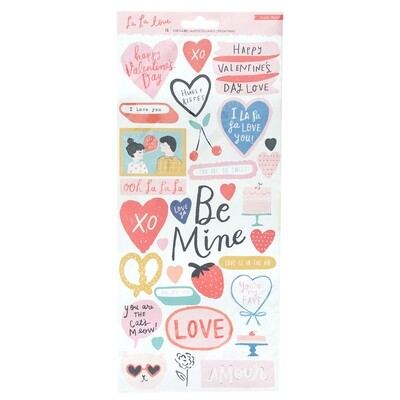 Sticker Pages Love