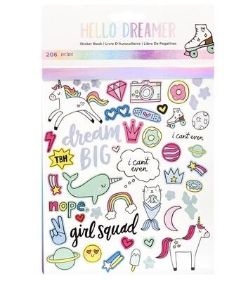 Sticker book Hello dreamer