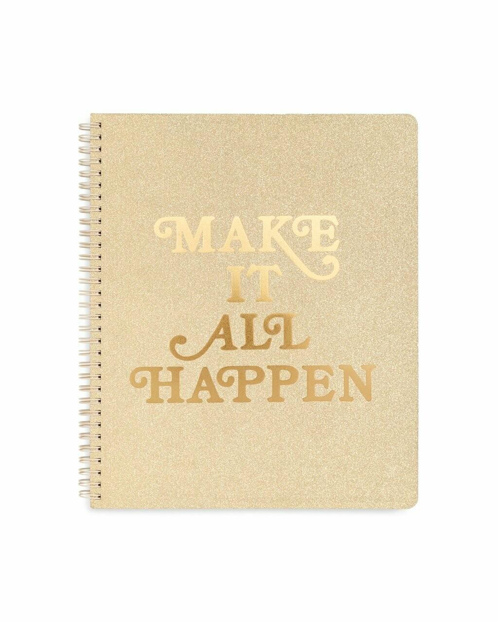 Cuaderno Grande Make It Happen