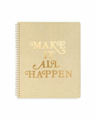 Cuaderno Grande Make It Happen
