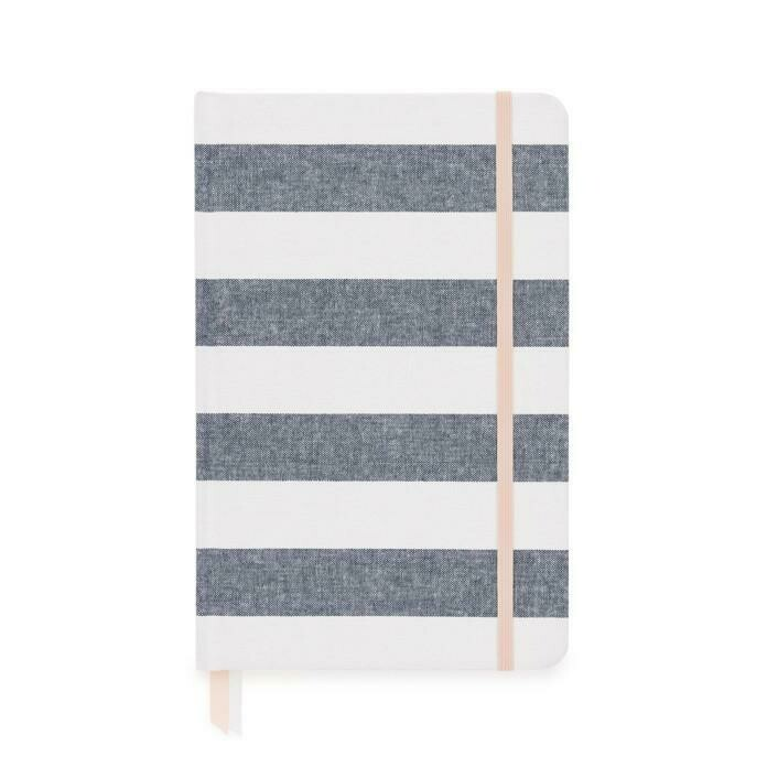 Essential Journal,  Chambray Stripe
