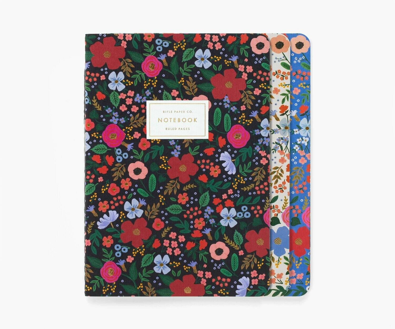 Set 3 Cuadernos- Wild Rose