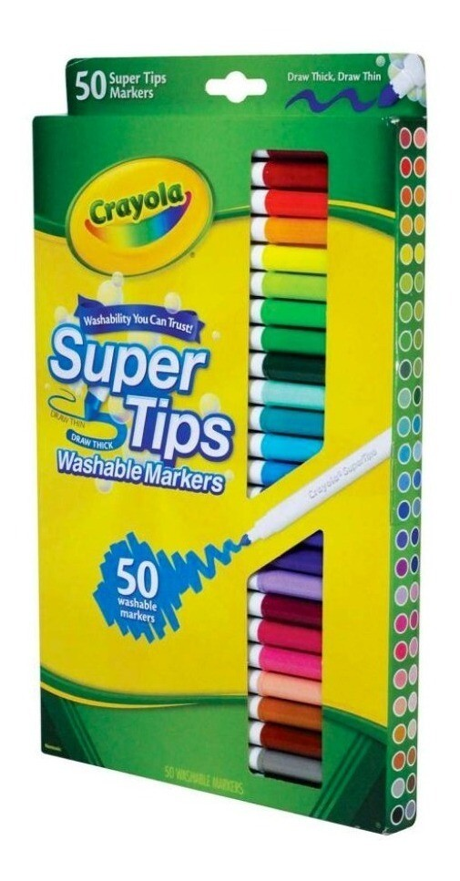 Crayola Super Tips 50