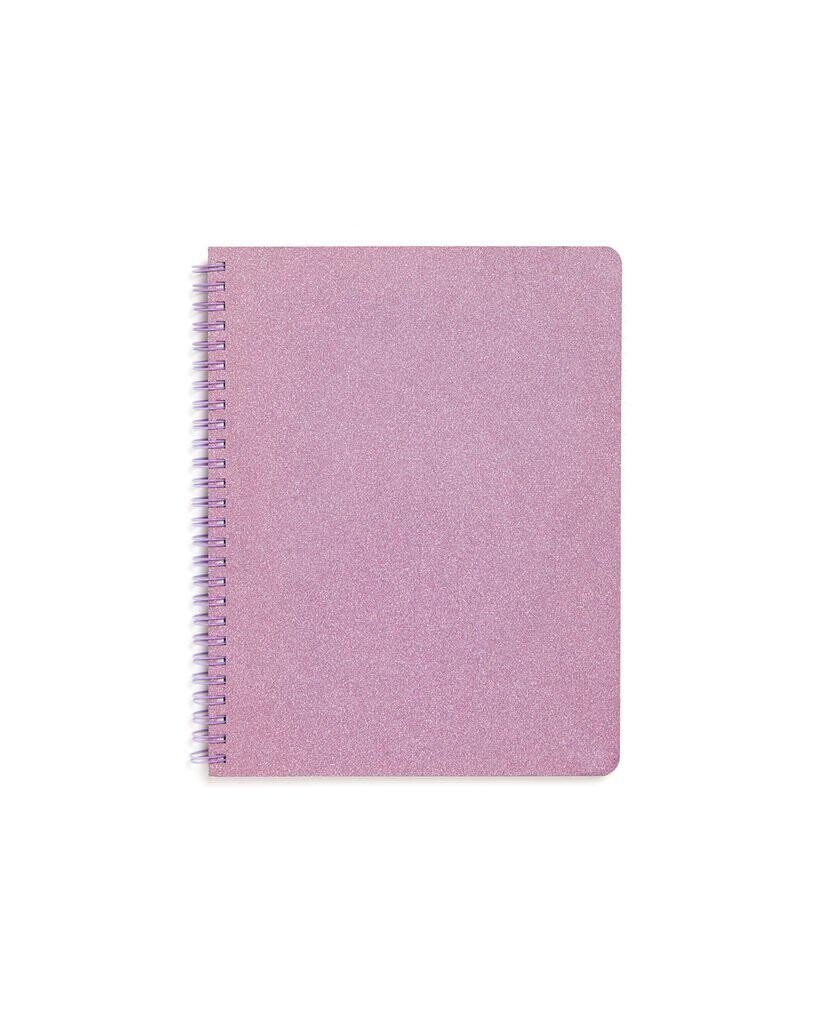 Cuaderno Pequeño Lilac Glitter