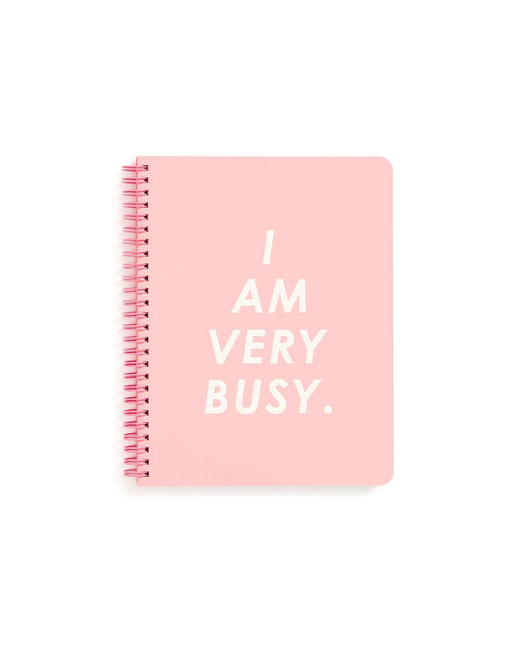 Cuaderno Pequeño I Am Very Busy