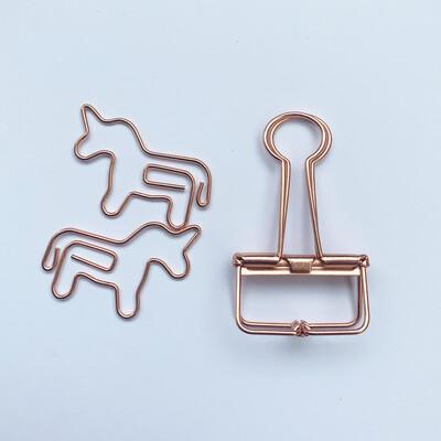 Unicornio + binder