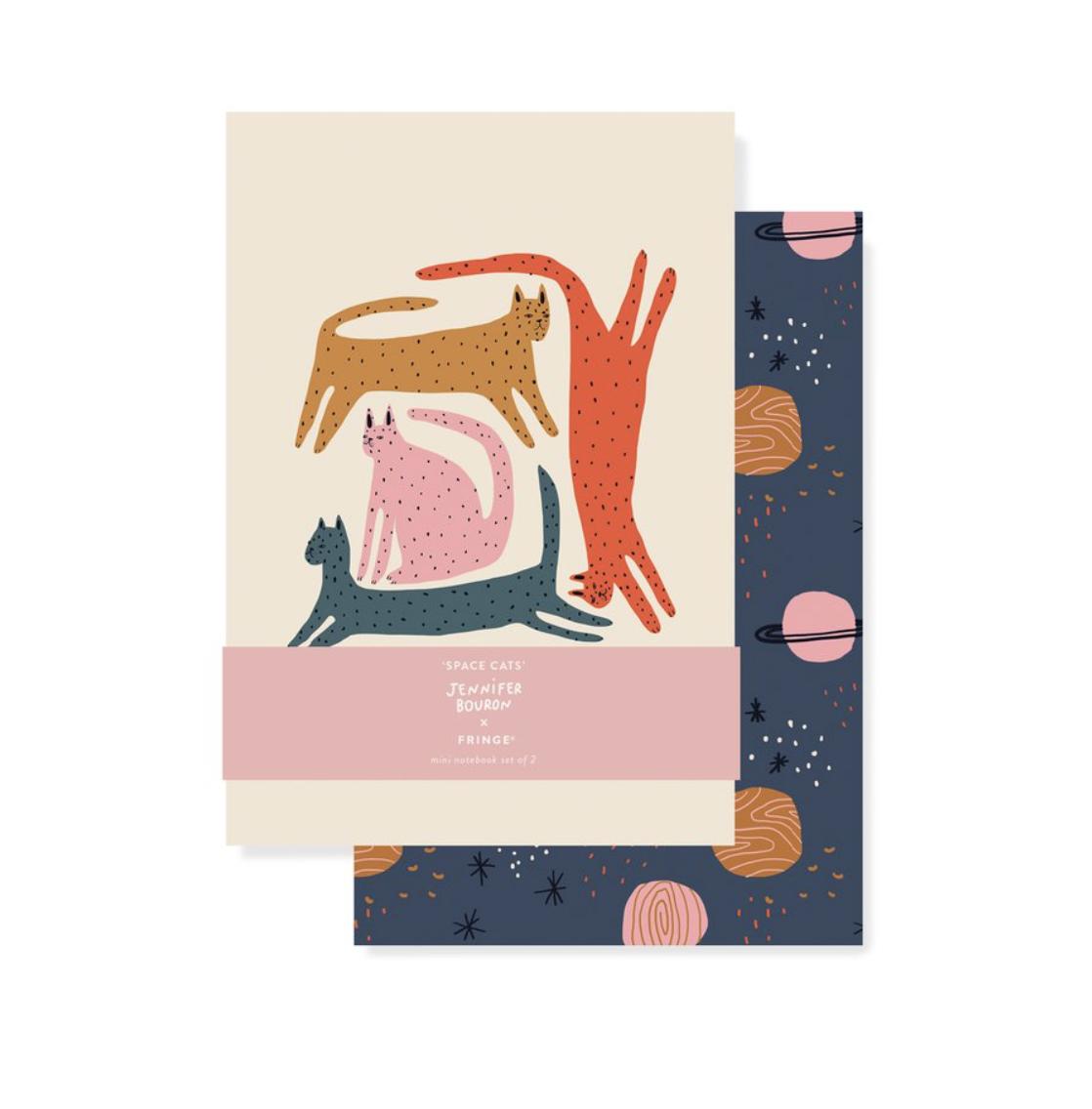 Moon Cat Mini Journal