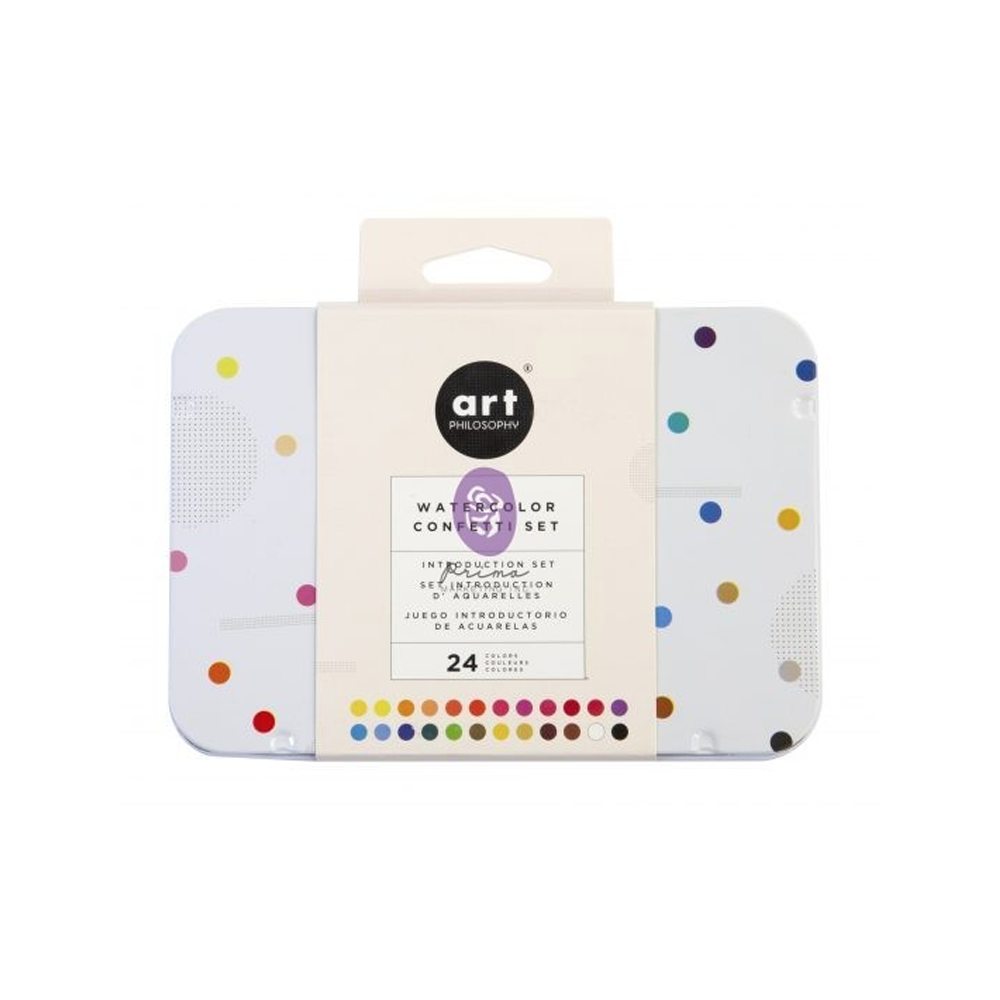 Watercolor Confetti Prima
