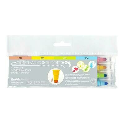 ZIG Clean color Dot- Set 4