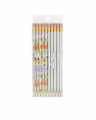Garden Party Pencil Set