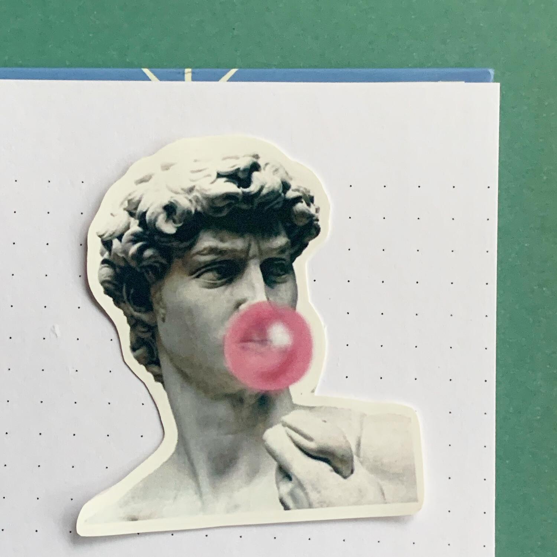 Stickers de Vinil- Gum Cesar