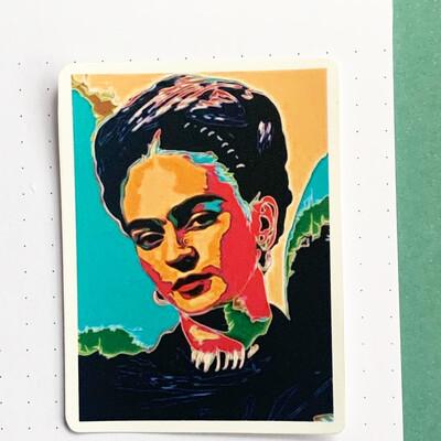Stickers de Vinil- Frida