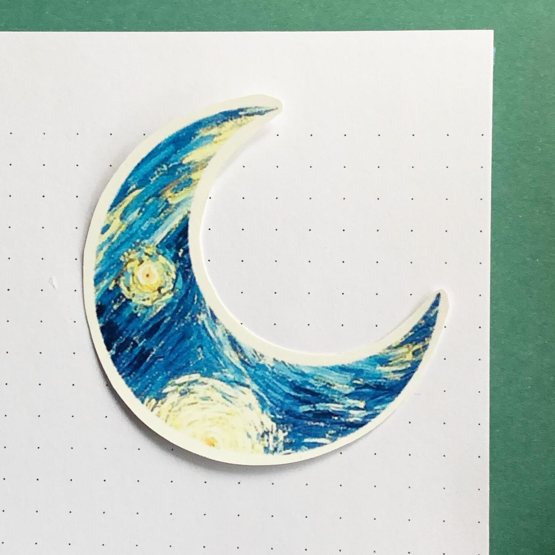 Stickers de Vinil- Luna